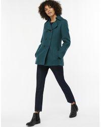 Monsoon - Pippa Wool Pea Coat - Lyst