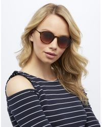 Monsoon - Rosie Round Preppy Sunglasses - Lyst