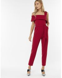 Monsoon - Cindy Colour Block One Shoulder Jumpsuit - Lyst