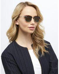 Monsoon - Riley Retro Preppy Sunglasses - Lyst