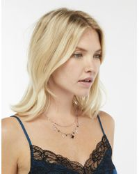 Monsoon - Dixie Double Star & Moon Necklace - Lyst