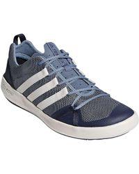lyst adidas terrex cc barca scarpa blu per gli uomini.