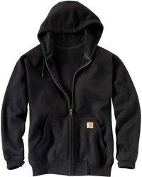 Carhartt   Rain Defender Paxton Heavyweight Hooded Zip Front Sweatshirt   Lyst