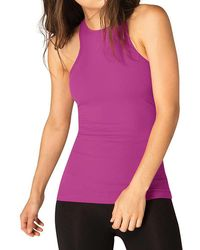 Beyond Yoga - Under Lock And Keyhole Tank Top - Lyst