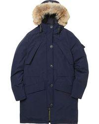 Penfield - Hoosac Real Fur Jacket - Lyst