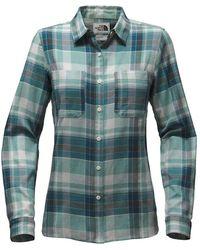 The North Face - Castleton Ls Shirt - Lyst