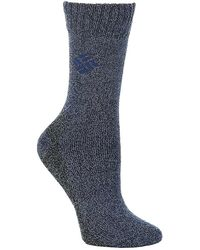 Columbia - Moisture Control Solid Crew Sock - Lyst