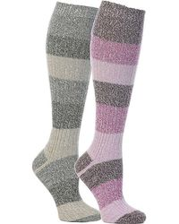 Columbia - Micro Poly Rugby Stripe Knee High Sock - Lyst