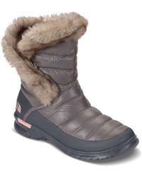 The North Face   Thermoball Microbaffle Bootie Ii Boot   Lyst