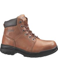 2a41a8144ea Wolverine Marquette W04713 Steel Toe Steel Toe Work Boot in Brown ...