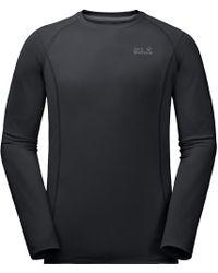 Jack Wolfskin - Hollow Range Ls Shirt - Lyst