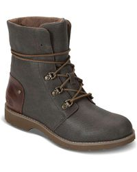 The North Face - Ballard Lace Ii Coated Canvas Boot - Lyst