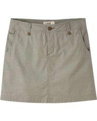 Mountain Khakis - Island Skirt - Lyst