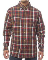 Woolrich - Red Creek Long Sleeve Shirt - Lyst