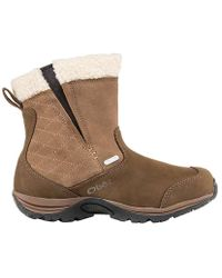 Oboz | Moonlight Insulated Bdry Slip On Boot | Lyst