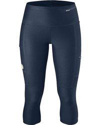 Fjallraven - Abisko Trekking 3/4 Tight - Lyst