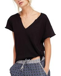 Free People - Lilly Tee - Lyst