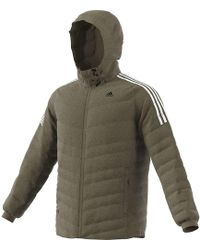 Lyst Adidas Shirt Jacket in Natural for Men