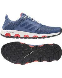 lyst adidas terrex cc - schuh für männer in blau