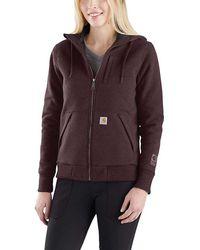 Carhartt - Rain Defender Rockland Quilt-lined Full-zip Hooded Sweatshirt - Lyst