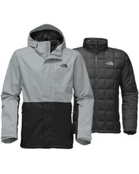 423d9fc76e61 Lyst - The North Face 3l Triclimate Jacket in Gray for Men
