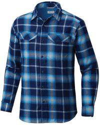 263025ceef2 Lyst - Columbia Silver Ridge Flannel Long Sleeve Shirt for Men