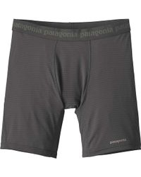 Patagonia - Capilene Lightweight Performance Boxer - Lyst