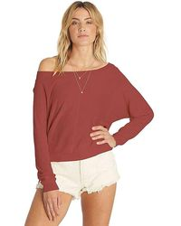 Billabong - No Regrets Pullover - Lyst