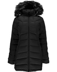 9464026cc Syrround Long Faux Fur Down Coat