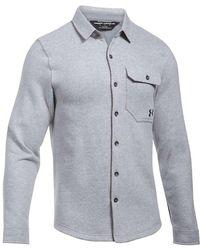 Under Armour - Ua Buckshot Fleece Shirt - Lyst