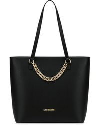 Love Moschino - Shopping Bag With Chain - Lyst