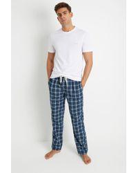 Ted Baker - Detiner Navy Pyjamas - Lyst