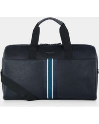 Ted Baker - Berman Holdall Black Bag - Lyst