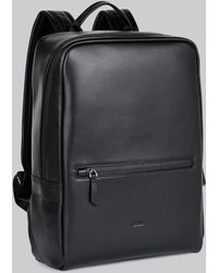 DKNY - Black Leather Back Pack - Lyst