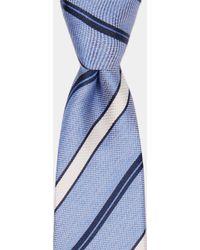 DKNY - Sky With Multi-stripe Tie - Lyst