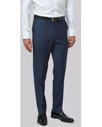 Lanificio F.lli Cerruti Dal 1881 - Cloth Tailored Fit Indigo Texture Itravel Trouser - Lyst