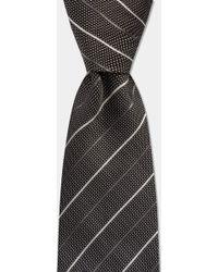 HUGO - Grey with White Diagonal Stripe - Lyst