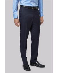 Lanificio F.lli Cerruti Dal 1881 - Cloth Tailored Fit New Navy Suit Trousers - Lyst