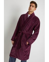 Ted Baker - Dawlish Plum Dressing Gown - Lyst