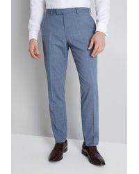 Lanificio F.lli Cerruti Dal 1881 - Cloth Tailored Fit Light Blue Texture Itravel Trouser - Lyst