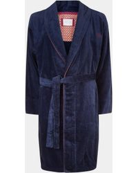 Ted Baker - Dawlish Navy Dressing Gown - Lyst