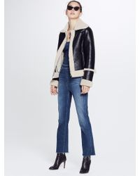 Mother - Boxy Zip Moto Leader Of The Pack - Lyst