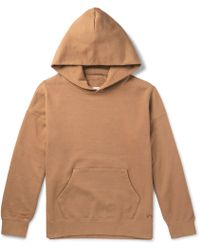 Visvim - Jumbo Hand-numbered Loopback Cotton-jersey Hoodie - Lyst