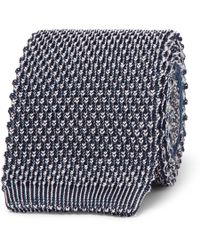 Etro - 6cm Knitted Silk And Jacquard Tie - Lyst