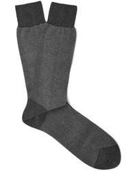Tom Ford - Herringbone Cotton Socks - Lyst