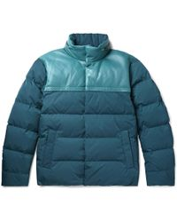 Bottega Veneta - Jacket In Nylon And Nappa - Lyst