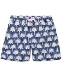 5dc563a47f On sale Pink House Mustique - Mid-length Printed Swim Shorts - Lyst