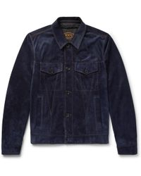 Tod's - City Suede Jacket - Lyst
