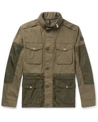 Moncler - Agard Cotton And Shell Field Jacket - Lyst