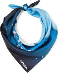 Blue Blue Japan - Printed Silk-twill Bandana - Lyst
